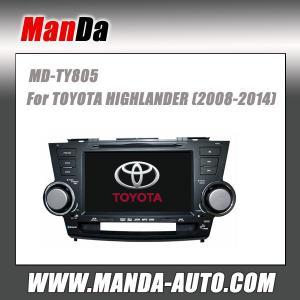 Quality 2 din car dvd gps for TOYOTA HIGHLANDER ( 2008 2009 2010 2011 2012 2013 2014 ) in-dash navigation gps for sale