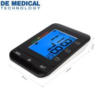 China CE & FDA approved arm-type Digital Blood Pressure Monitor Automatic Sphygmomanometer for Adult BP Monitor  USB support for sale