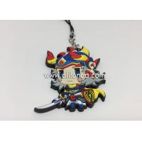 Quality Anime rubber pendants custom cartoon figures phone pendants supply for promotional gifts for sale