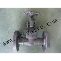 Buy cheap FORGE STEEL FLANGED GATE VALVE CLASS150-CLASS600 from Wholesalers