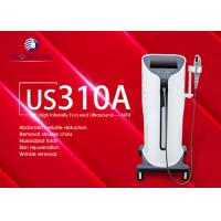 Quality Non Invasive Hifu Facelift Machine Face Wrinkle Remover Machine 4.0 MHz for sale