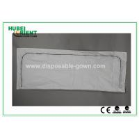 Quality White Polypropylene / PVC Dead Disposable Body Bags For Hospital , Light Weight for sale