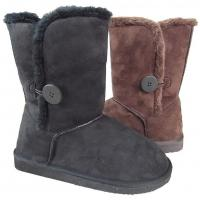 Quality Very Funky Women's Snow Boots With Bailey Button for sale