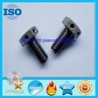 Special Hexagon bolts with holes,Bolt with hole, Bolt with Hole in Head ,Hex head bolts