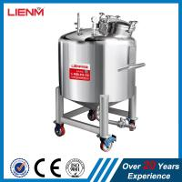 Quality 50-10000L SS316, SS304 Stainless Steel Sealed Storage Tank with pressure for sale