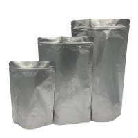 China Aluminum Zipper Resealable Mylar Smell Proof Bags on sale