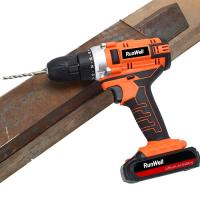 Quality 2000mAh 18V Cordless Drill Driver For Concrete / Wood / Steel 32Nm Rated Torque for sale