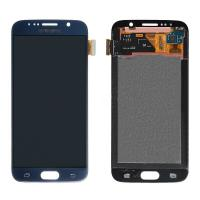 Quality For Samsung Galaxy S6 SM-G920/G920A/G920P/G920R4/G920T/G920F LCD Screen and Digitizer Assembly - Blue - Grade A+ for sale