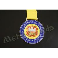 Quality Europe Design Custom Sports Medals Customized Medallion With Lion Logo for sale