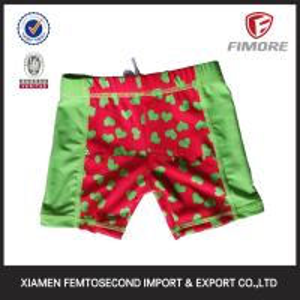 Quality summer boardshorts beach shorts baby's peach hearts printed shorts Swimwear shorts for sale