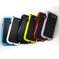 China Samsung galaxy s3 SIII i9300 carbon fiber tpu case cover funda capa estuch Hulle Coque on sale