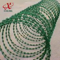 Quality Galvanized CBT-65 BTO-22 Razor Barbed Wire High Security Barbed Wire for sale