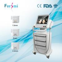 Quality factory hot sale 15 inch big touch screen HIFU face lift& wrinkle removal machine for sale