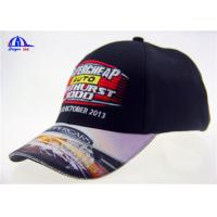 6 Panel Polyester Embroidery Golf  Baseball Cap With Sublimation Printing