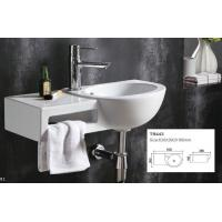 Quality offer cheap price oval mini wall hung basin made in China wall mounted bathroom sink china factory for sale