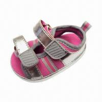Quality Baby Fashion Two-strap Sandals with Mesh Lining, Comes in Various Colors for sale