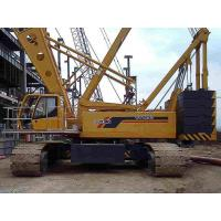 Buy Durable Construction Site Mobile Hydraulic Crawler Crane , QUY250 XCMG Crawler at wholesale prices