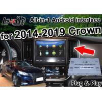 Buy cheap Android Auto Interface/ GPS Navigation work on 2014-2019 Toyota Crown built from wholesalers