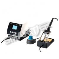Quality 160W Adjustment Module Automatic Temperature Controlled Soldering Station With Iron Holder for sale
