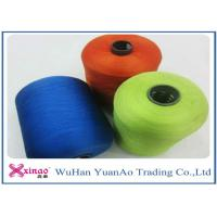 Quality Spun High Tenacity Polyester Yarn , Colorful High Strength  Spun Yarn for Sewing for sale