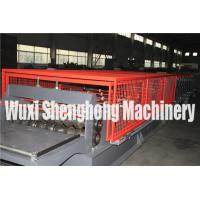 Quality Corrugated Steel Sheet Double Layer Roll Forming Machine 0.4 - 0.8mm Thickness for sale