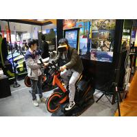 Quality Arcade Games Machines Virtual Reality Bike With 9D VR 360 Degree 3D Glass Headset for sale