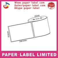 Quality OEM self-aFactory Paper Sticker Printing 2 Ply Blank Thermal Price Label Roll for sale
