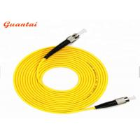 Quality 3m Customizable Fiber Optic Patch Cord 200N Tensile Strength For Local Area Networks for sale