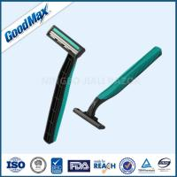 Quality Rubber Handle Twin Blade Disposable Razor Any Color Available ISO Certificate for sale