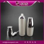 Quality L313 luxury pump bottle,white lotion pump bottle for sale