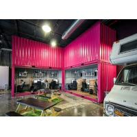 Quality Recycled Eco - friendly 40 Feet Modified Combined Containers For Stylish Open Office for sale