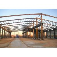Quality Large Steel Structure Workshop Prefabricated Workshop Buildings With Crane for sale