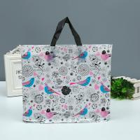 China Shopping Mall Custom Printed Plastic Bags Tote Bag With Handle 1-8 Colors Printed on sale