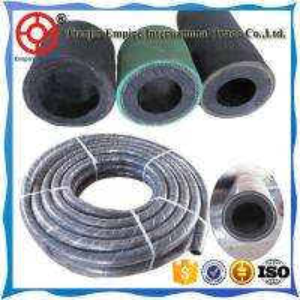 China OEMHOSE high performance double fiber reinforced layer sand blasting machine hose on sale