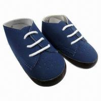 China Baby boy's shoes, suede upper, soft sole, good shoes for your baby on sale