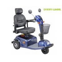 24V 40Ah Three Wheels Electric Mobility Scooter 6Km - 12Km / H 88Kgs Multi Function
