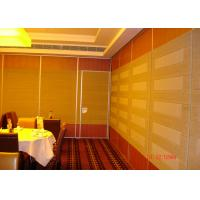 Quality HPL Melamine Training Room Internal Partition Walls For Convention for sale