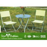 Contemporary Outdoor Living Patio Furniture , Outside Lawn Furniture Powder Coated Frame