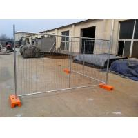 Quality OD 32 Pipes Secure Temporary Fencing Construction Site Fence Panels Industrial Style for sale