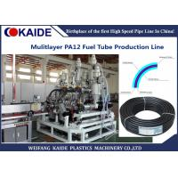 Quality PA Automotive Fuel Tube Making Machine , Multilayer Nylon Oil Pipe Extruder Machine for sale