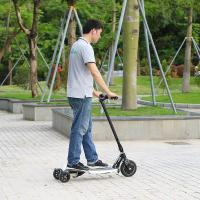 Quality EcoRider 250W Max Speed 25km/h Street Use 3 Wheel Foldable Electric Scooter for sale