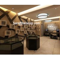 Quality manufacture of jewelry kiosk used jewelry display furniture glass jewelry showcase for sale