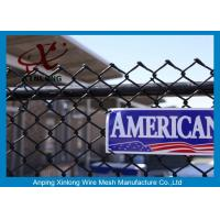 Quality Galvanized Steel Chain Link Fence Diamond Wire Mesh Fence Privacy Fence for sale