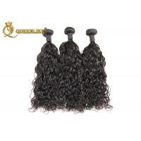"""Quality Full Head 18"""" Machine Weft Hand Tied Human Hair Weave Salon Hair Extensions for sale"""