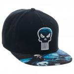 Quality Polyester Sublimated Snapback Baseball Caps Skull Monster 3D Logo Anti Pilling for sale