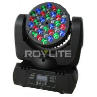 Quality Mac 101 36 x 3w RGBW Led Moving Head Light Beam Angle 8 For Stage Lights for sale