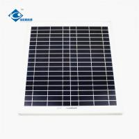 China Transparent  Solar Photovoltaic Panels For Home 18V 18W Customized Size on sale