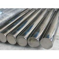 Quality Building 201 202 316l Stainless Steel Rod , Max 18m Pickled Stainless Round Stock for sale