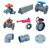 Pvc pvdf pph pipe fitings and valves for sale