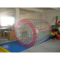 High Quality Color Dot Inflatable Water Roller for Recreation In Kids Inflatable Pool